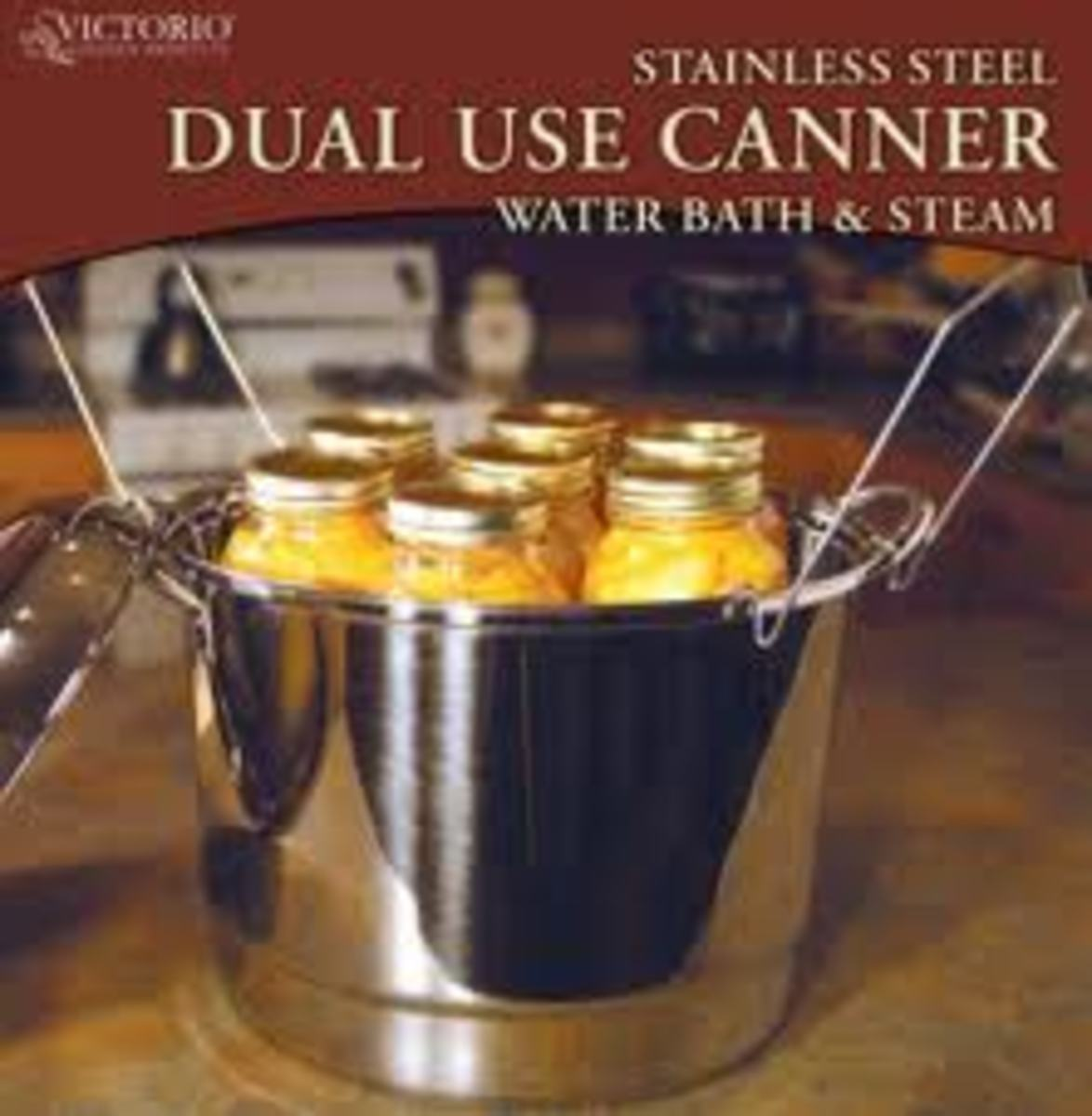 Many prefer the hot water bath canning method.