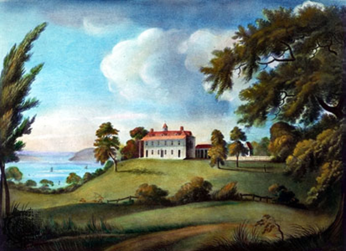 Mount Vernon by Francis Jukes (1745-1812)