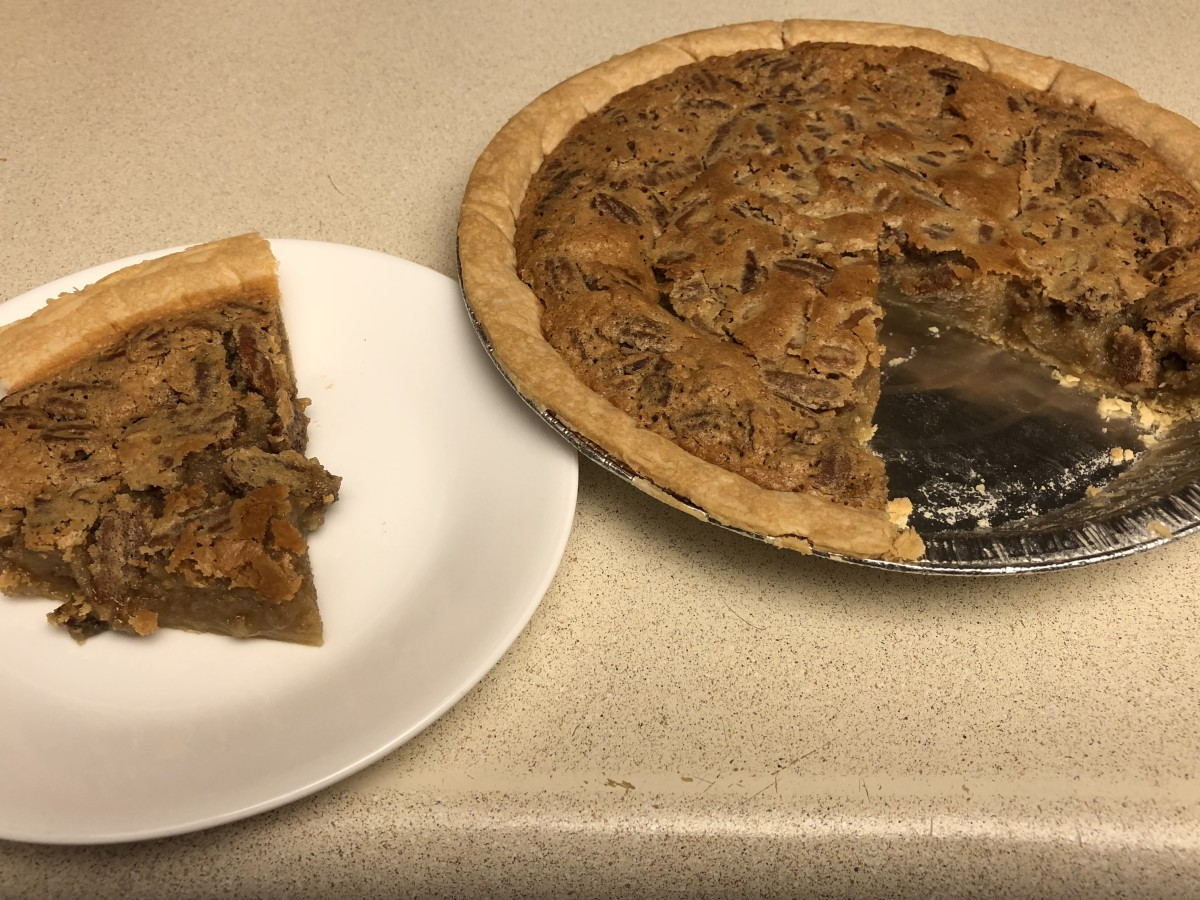 Pecan Pie sliced