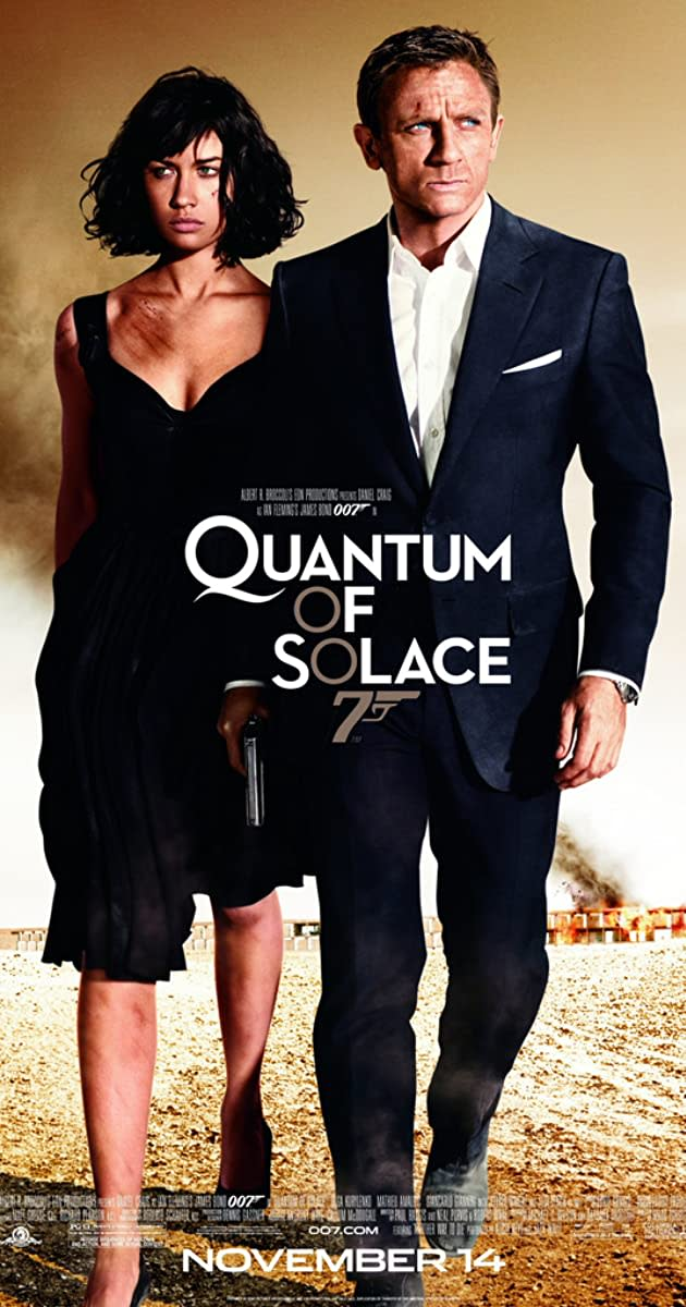 Why 'Quantum of Solace' Was Such a Letdown