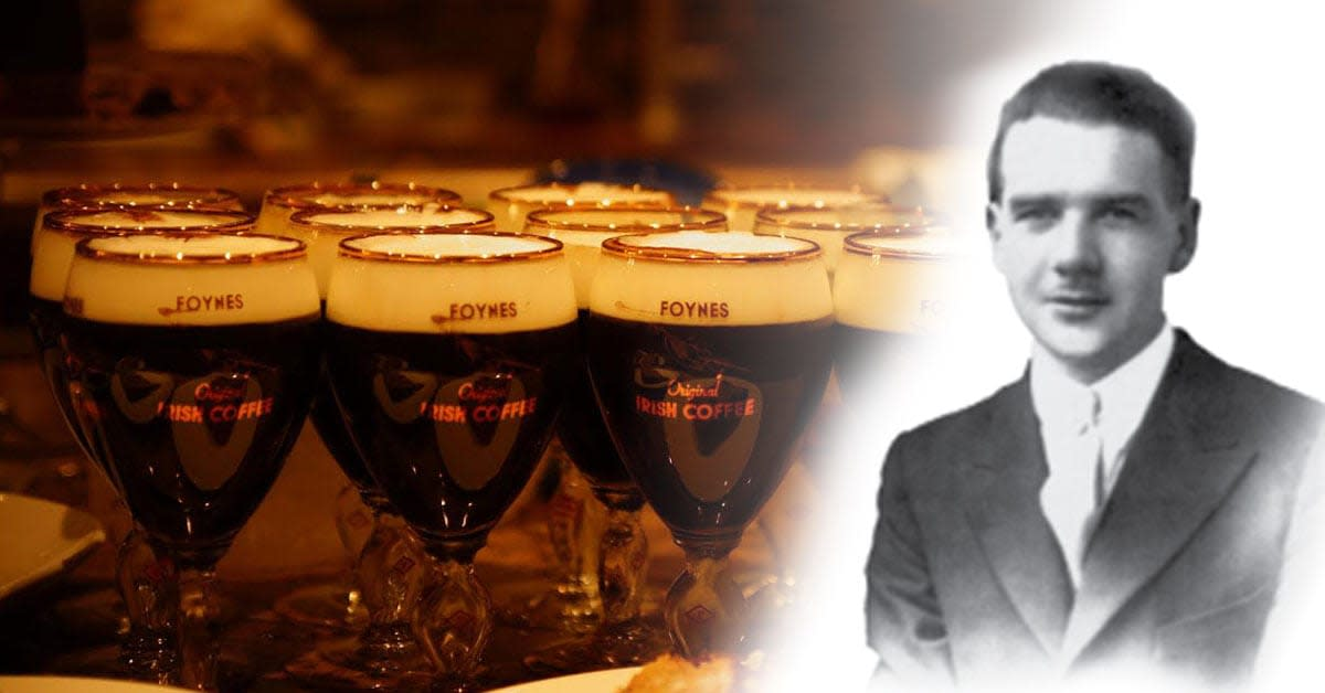 Joe Sheridan, the inventor of Irish coffee.