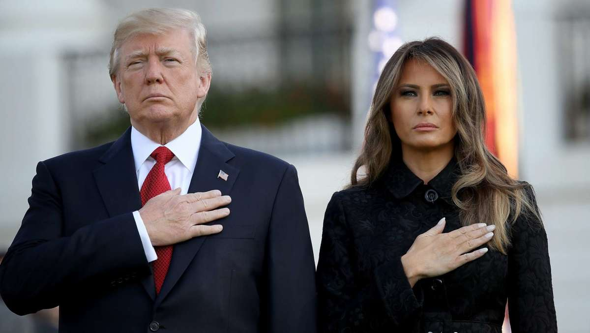 President Trump and his First Lady