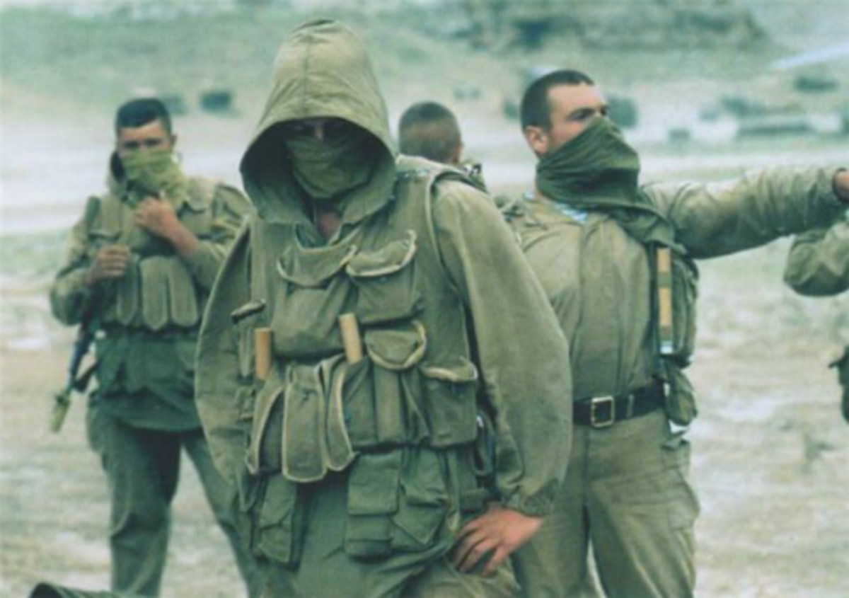 Russian Spetsnaz in Dagestan during the attempted Chechen invasion in 1999