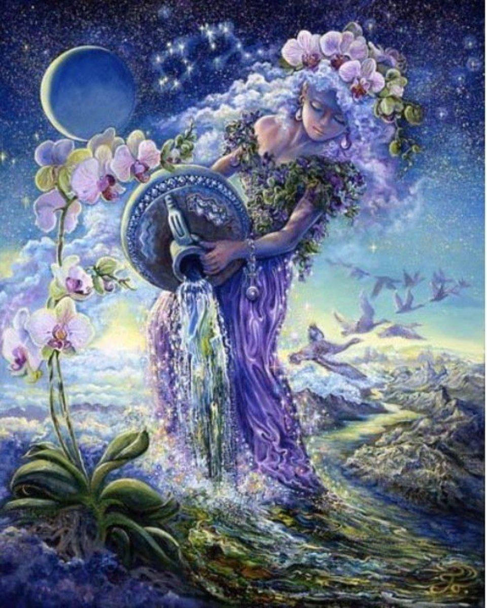 A little bit of fantasy makes the Aquarius heart swim.