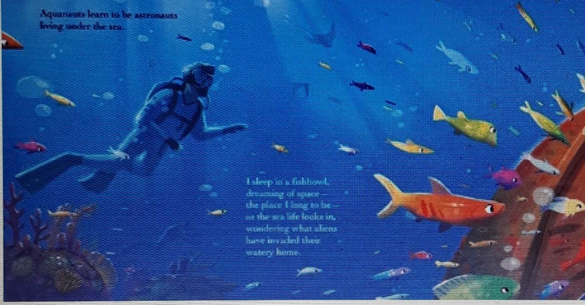 astronaut dreams under the sea