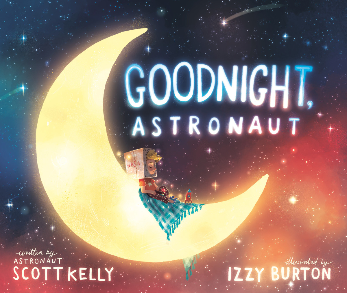Fall asleep with an astronaut and his adventures in new bedtime story