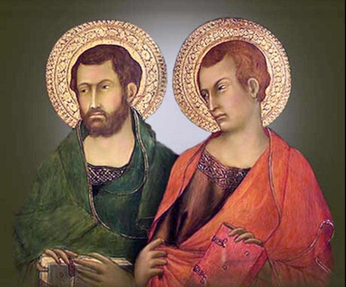 Saints Timothy and Titus, pray for us. . .