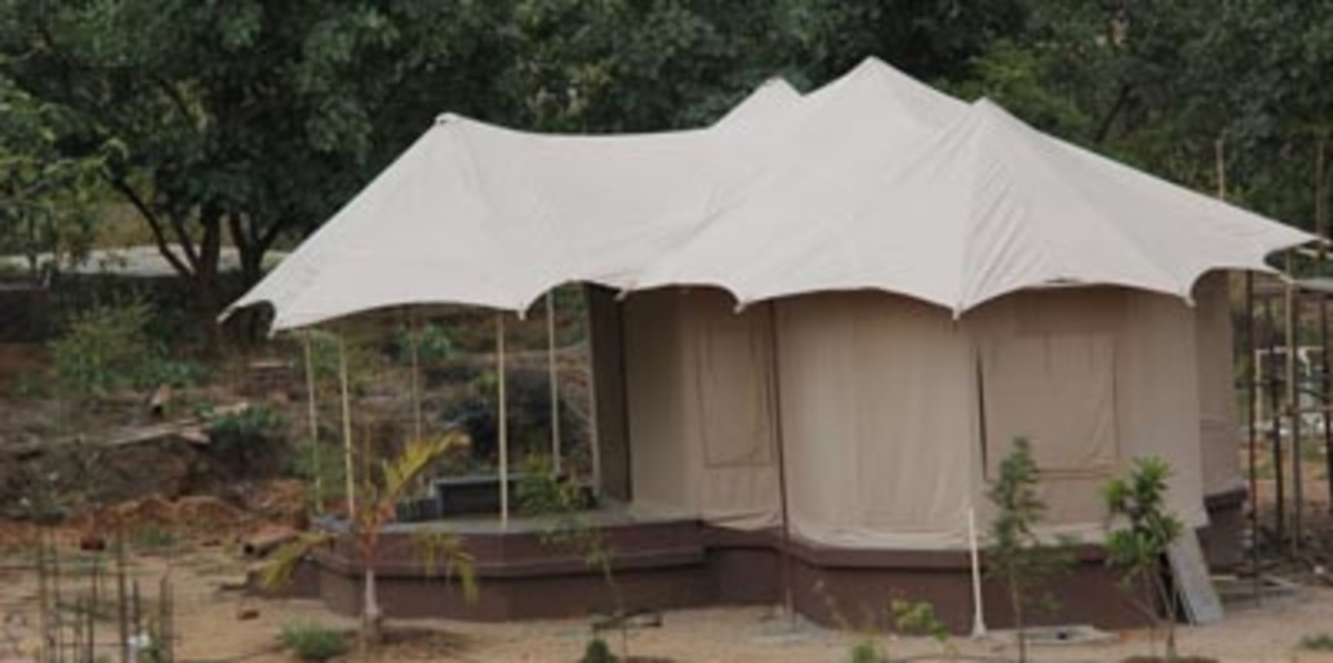 Luxury Tents Tathastu Resort  in Pench
