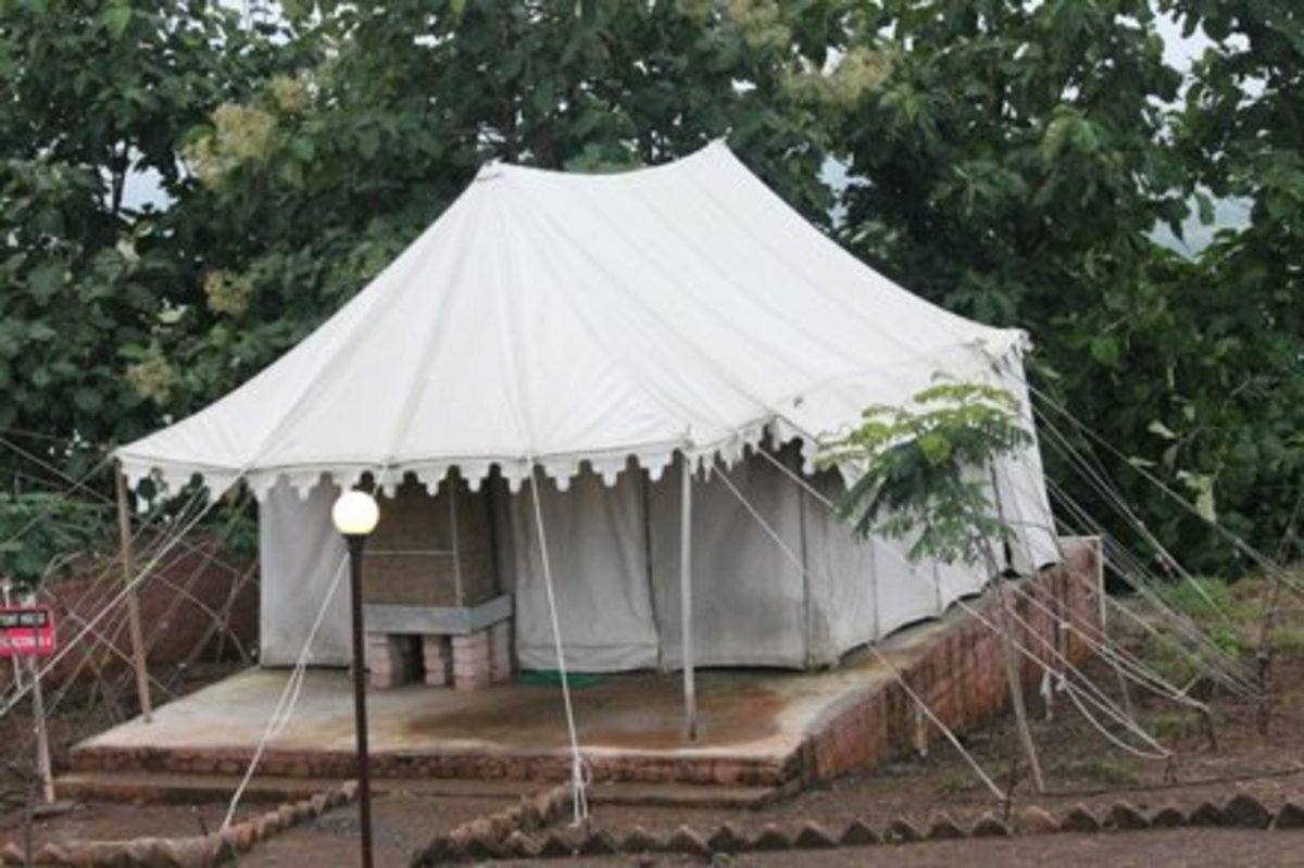 Luxury Tent at Pench Hotel