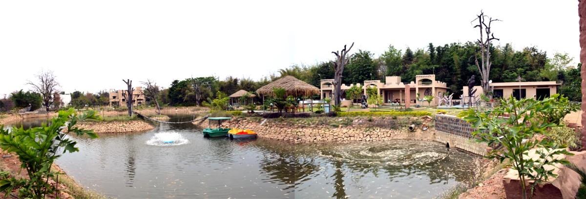 Lake View Tathastu Resort in Pench National Park