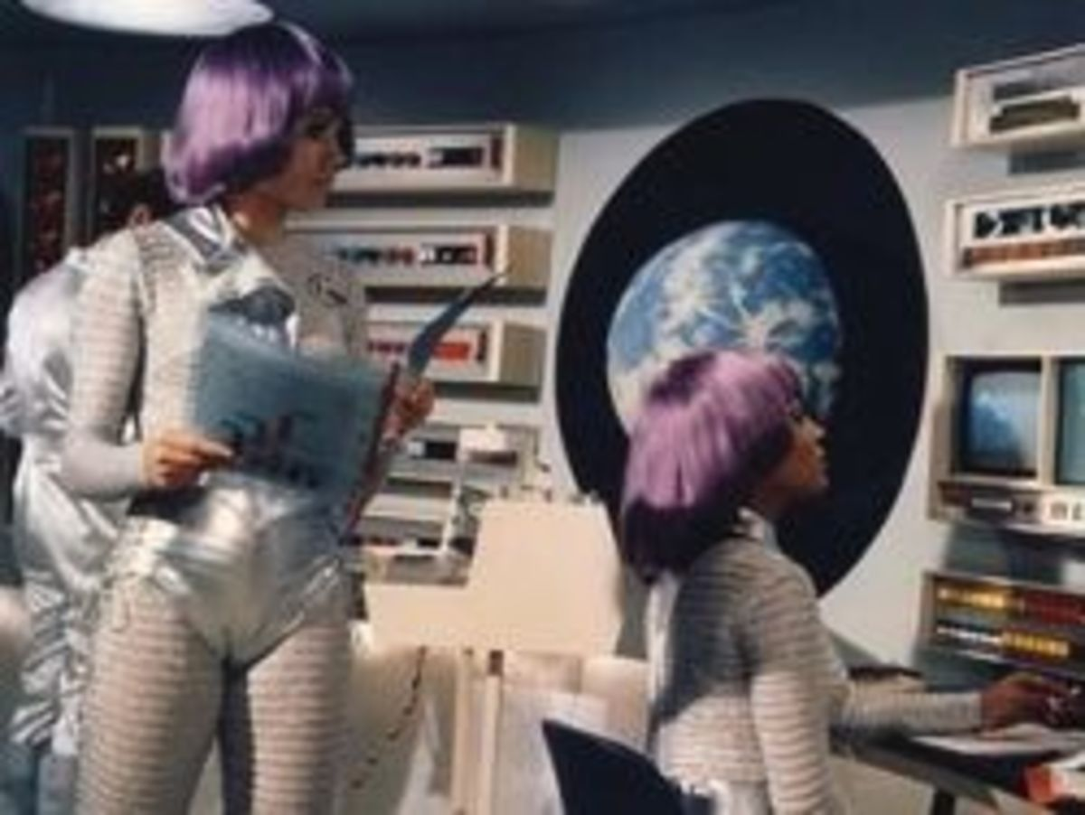 Moonbase staff were all women.