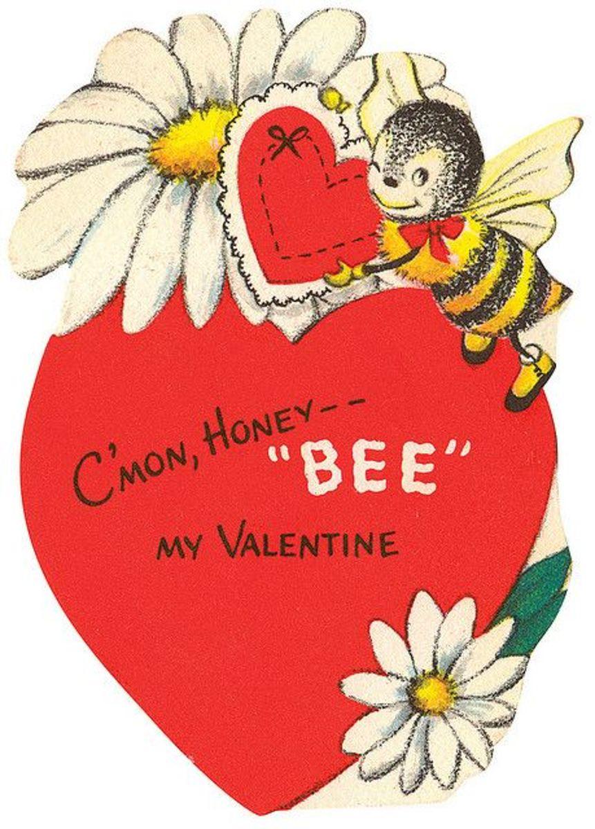 Vintage BEE MY Valentine
