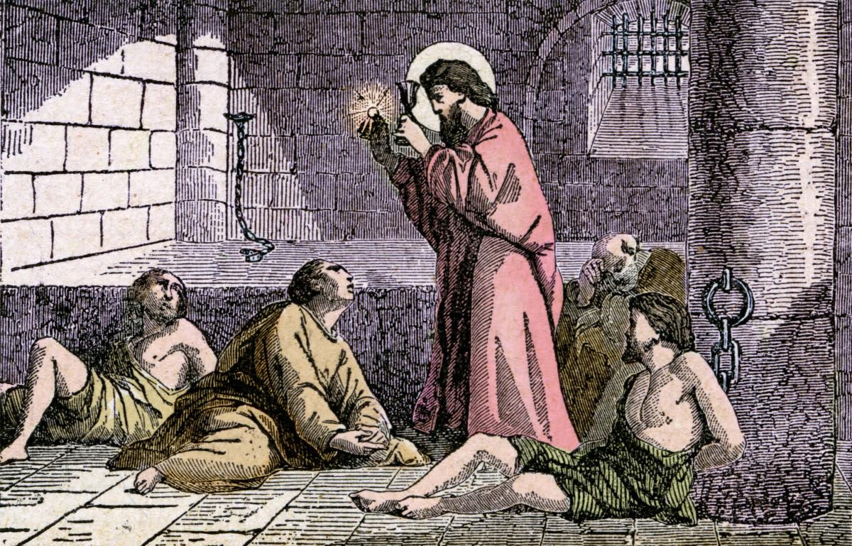 St. Valentine in Prison