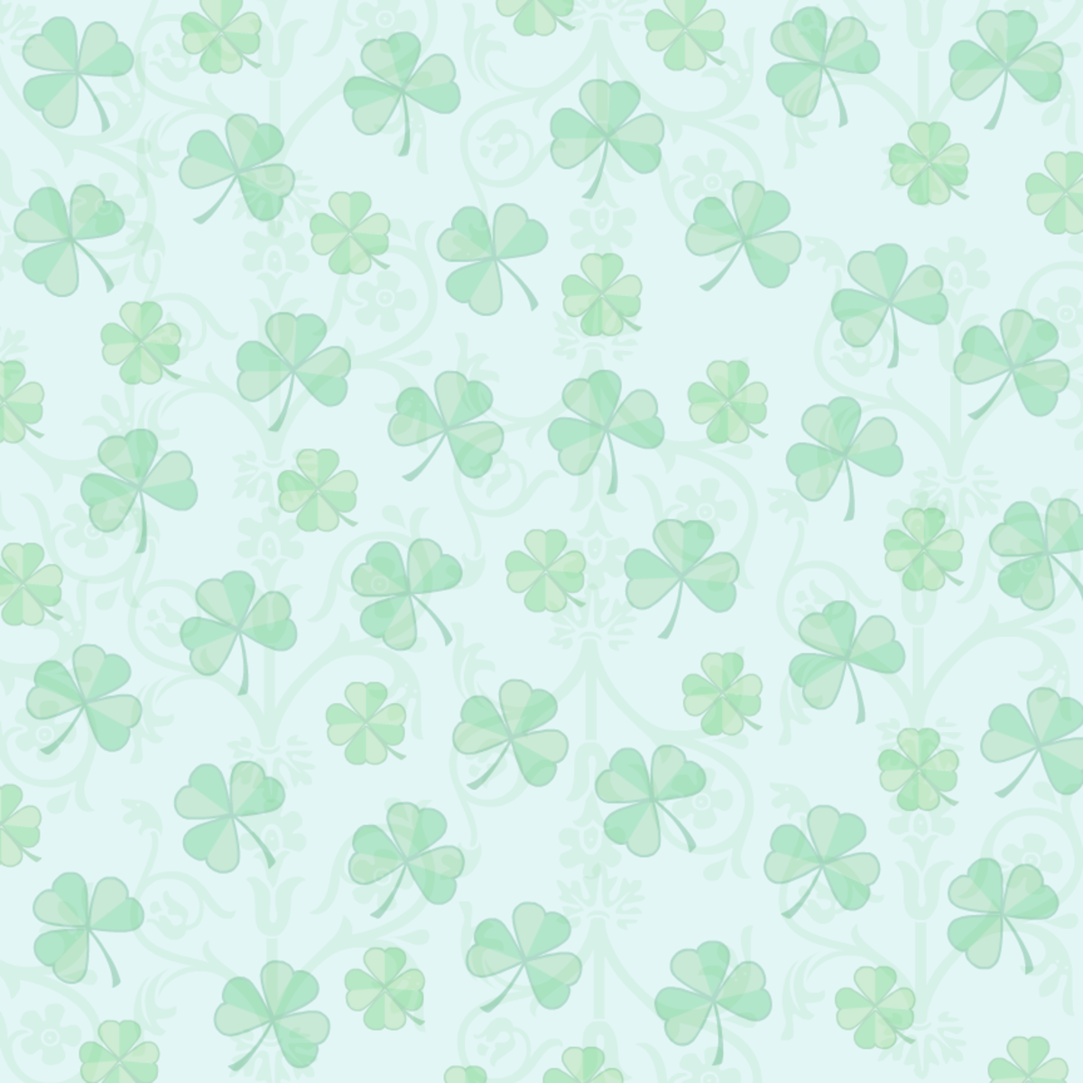 Free digital St. Patrick's Day scrapbook papers