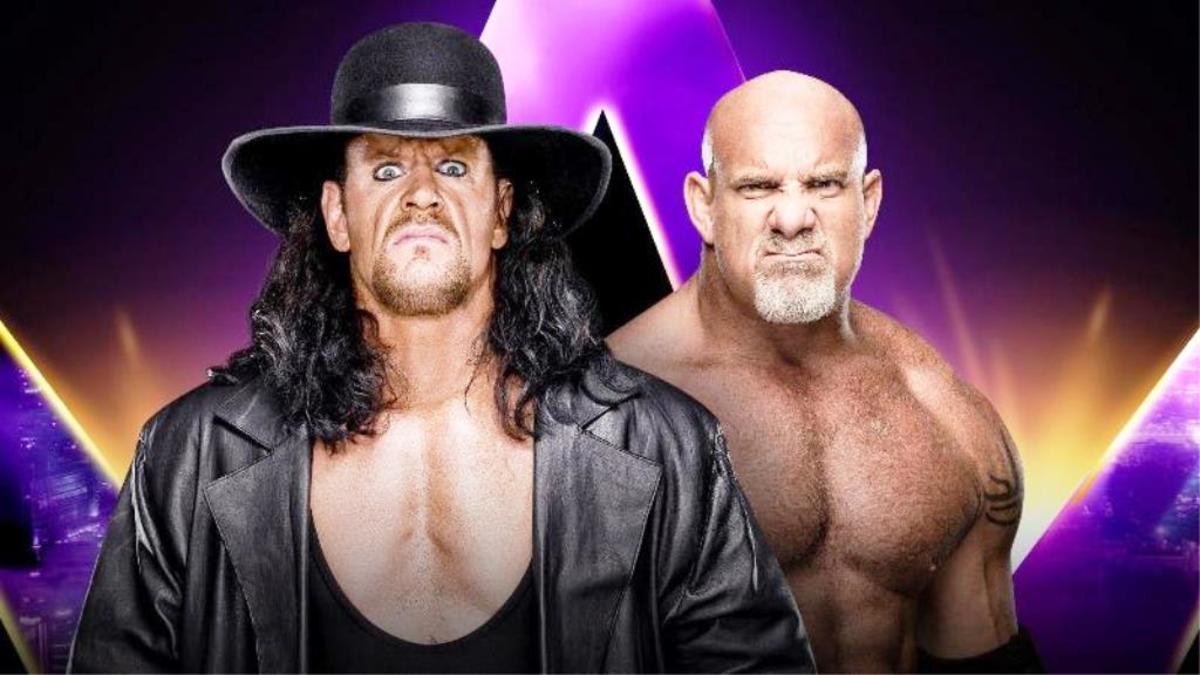 The Undertaker vs. Goldberg.