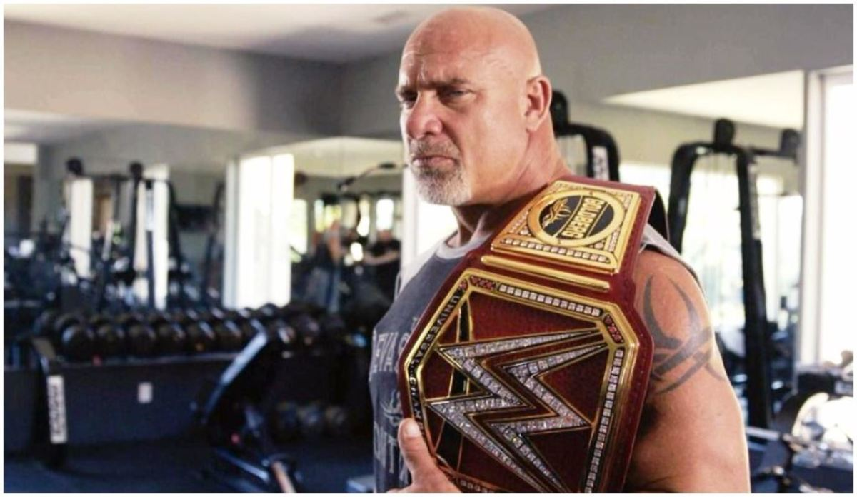 Goldberg lost the title to Brock Lesnar at WrestleMania 33.