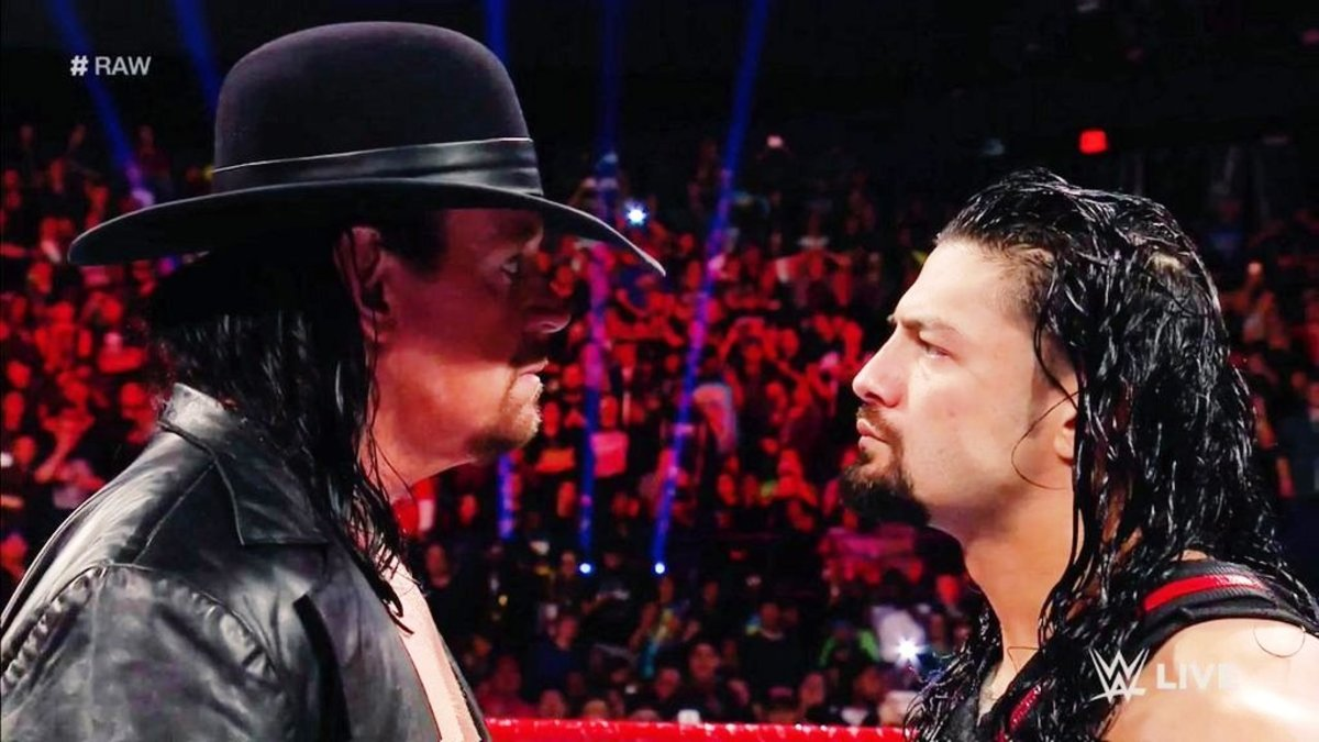 The Undertaker vs. Roman Reigns.