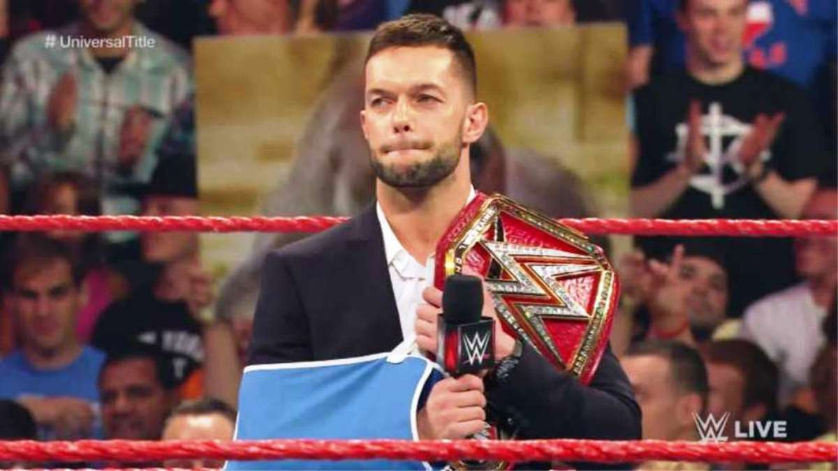 Finn Balor was the inaugural Universal Champion but had to relinquish his title due to a shoulder injury sustained during the championship match.