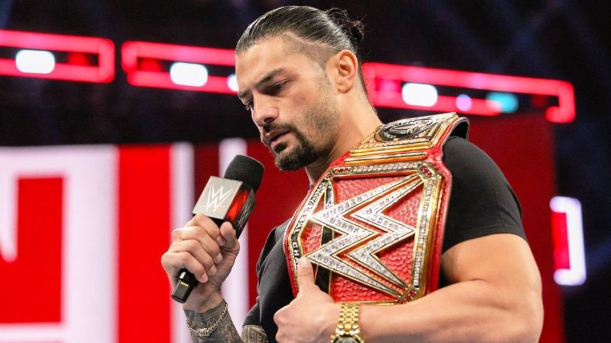 Roman Reigns had to relinquish his Universal Championship title after he was re-diagnosed with leukemia in 2018.