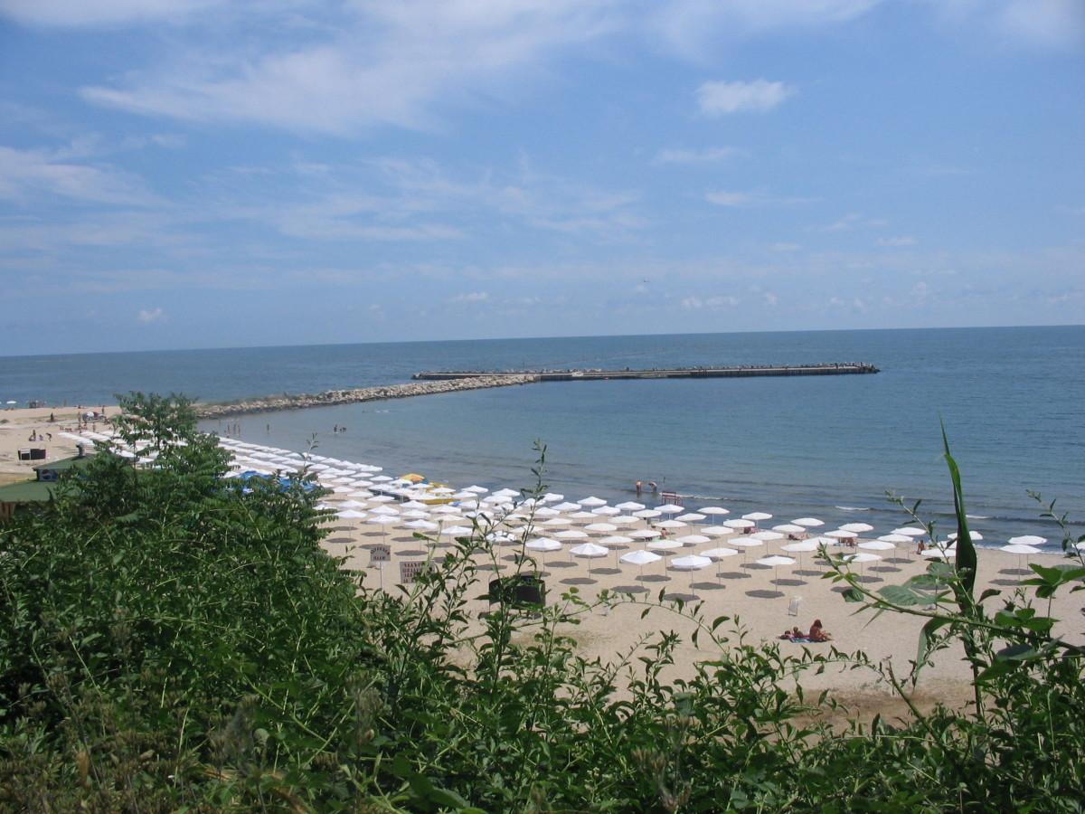 The beach in Varna