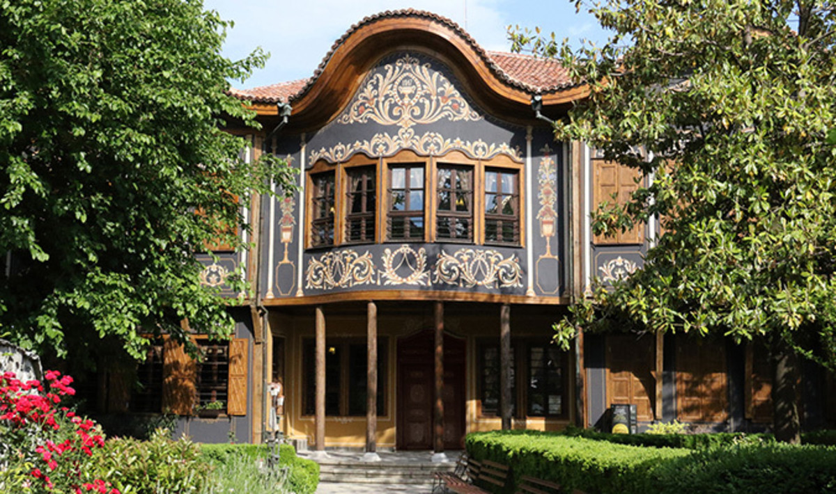 The Ethnographic Museum, the Old Town in Plovdiv