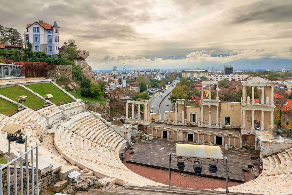 The Roman Theater in Plovdiv