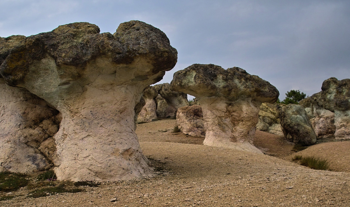 Stone Mushrooms - rock formations in the Rhodopes