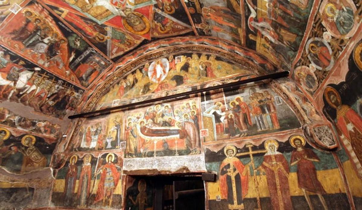 Boyana Church - Interior