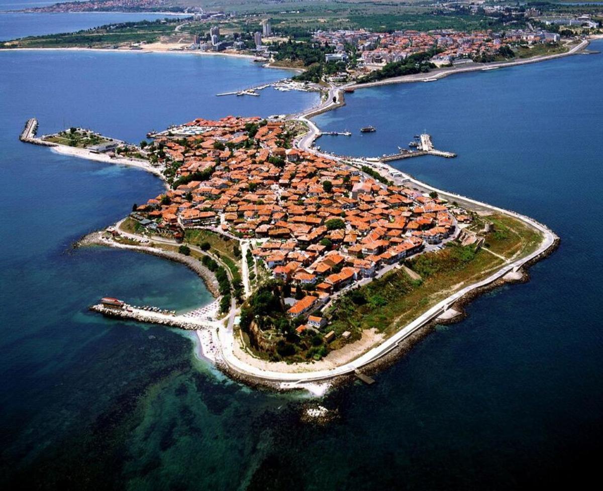 Nessebar and its peninsula