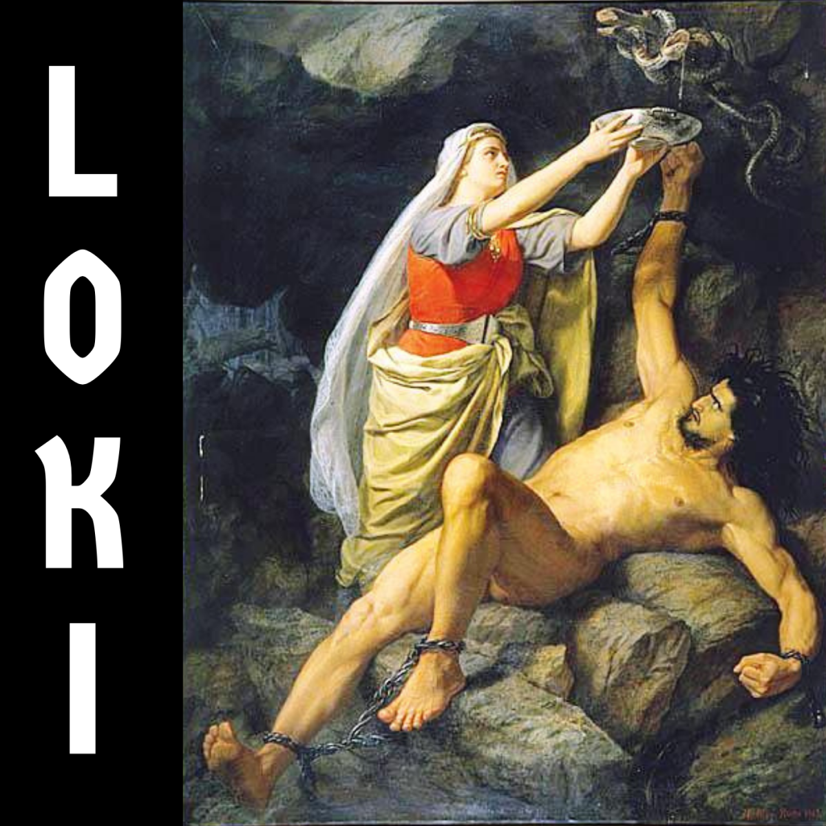 Loki gave birth to an eight-legged spider-horse after copulating with a stallion.