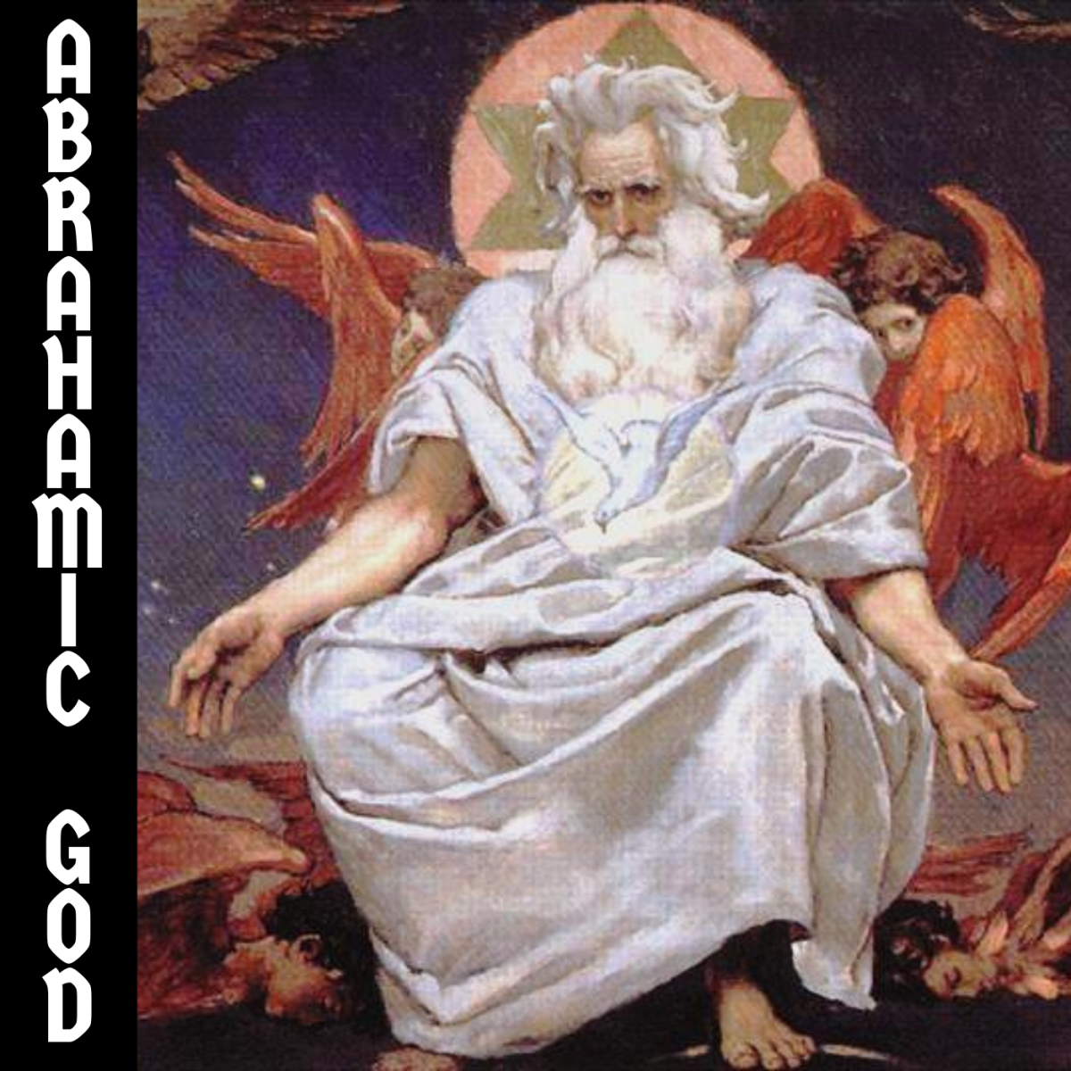 """The Abrahamic God told his follower, Abraham, to sacrifice his son in a test of loyalty. When he was about to do so, God said something along the lines of """"just kidding."""""""