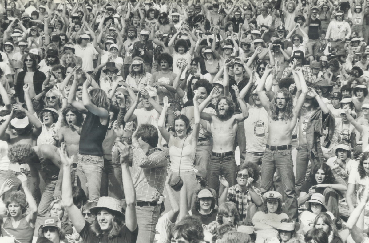 Atlanta Rhythm Section played before their largest crowd (110K+) @ Canada Jam in Mosport Park in Bowmanville, Ontario, Canada.