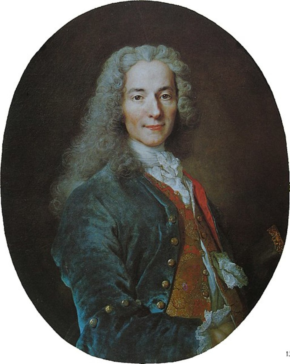 Brief Bio of Voltaire and Intro to Candide