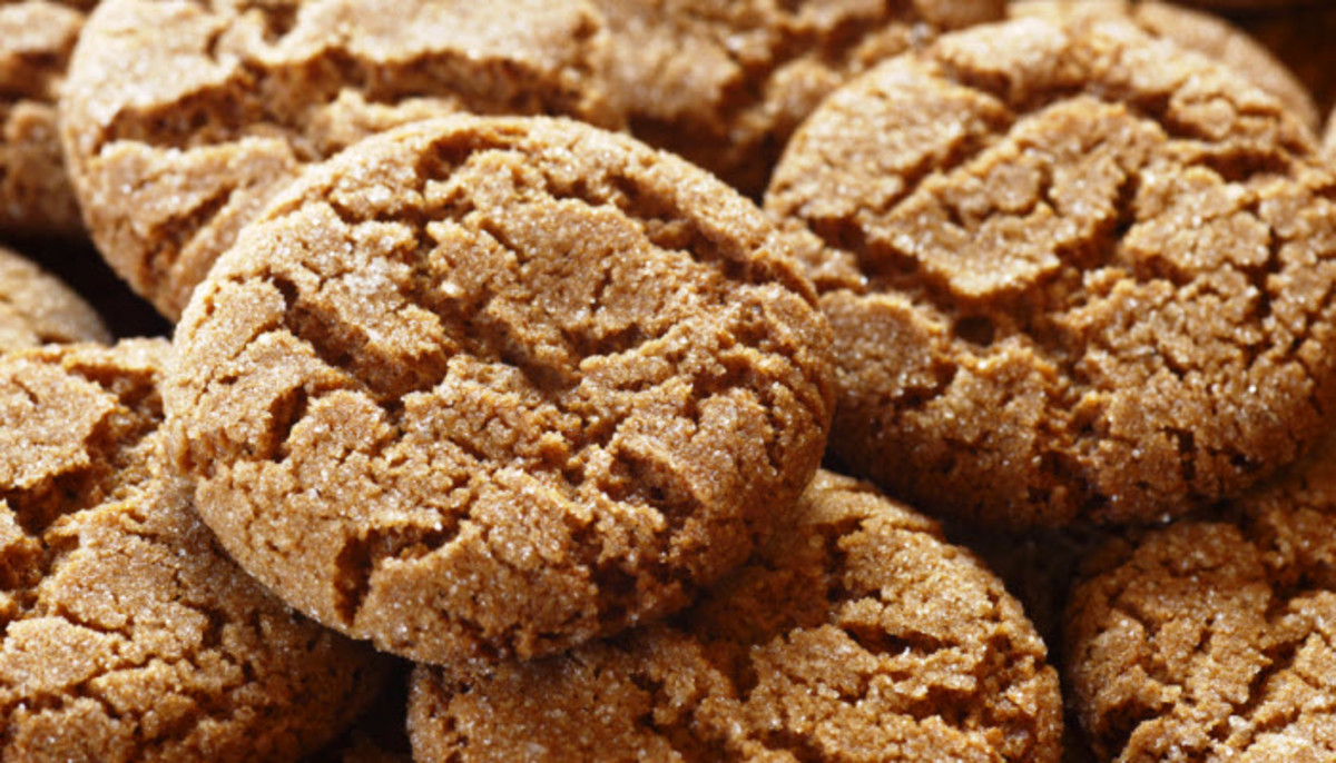 Spicy Gingersnap Cookies