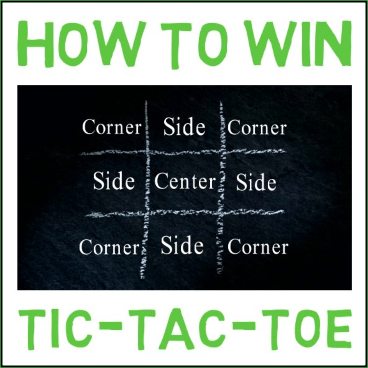 Never Lose at Tic-Tac-Toe: Winning Strategy and Tactics for Perfect Play