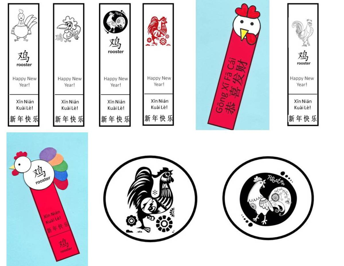 Here are some examples of the bookmarks and toppers, along with sample projects which have been cut, colored, and assembled.