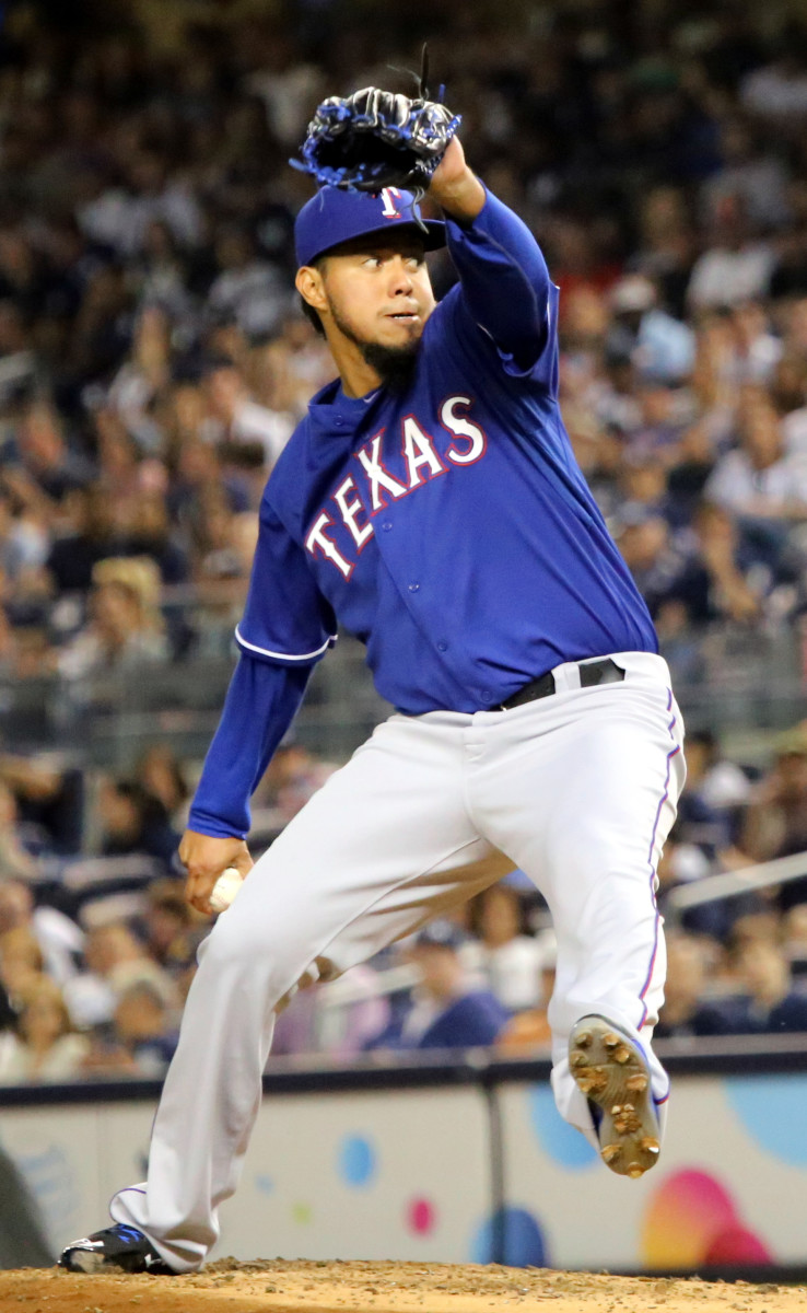A native of Mexico, Yovani Gallardo played his high school and college baseball in Texas, and then spent a brief part of his Major League career with the Rangers.