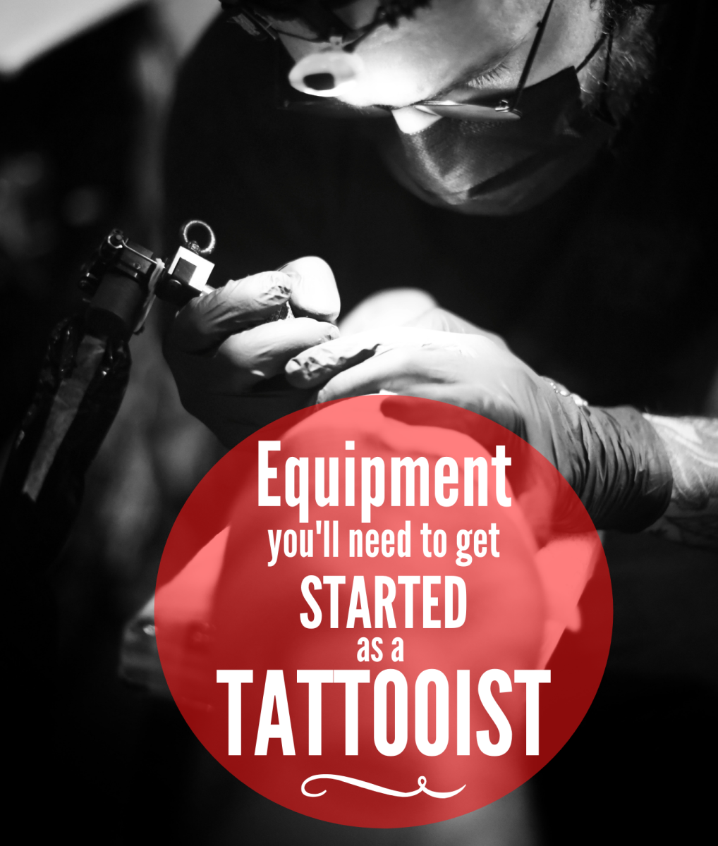 A list of the gear and equipment you will need to get started tattooing.