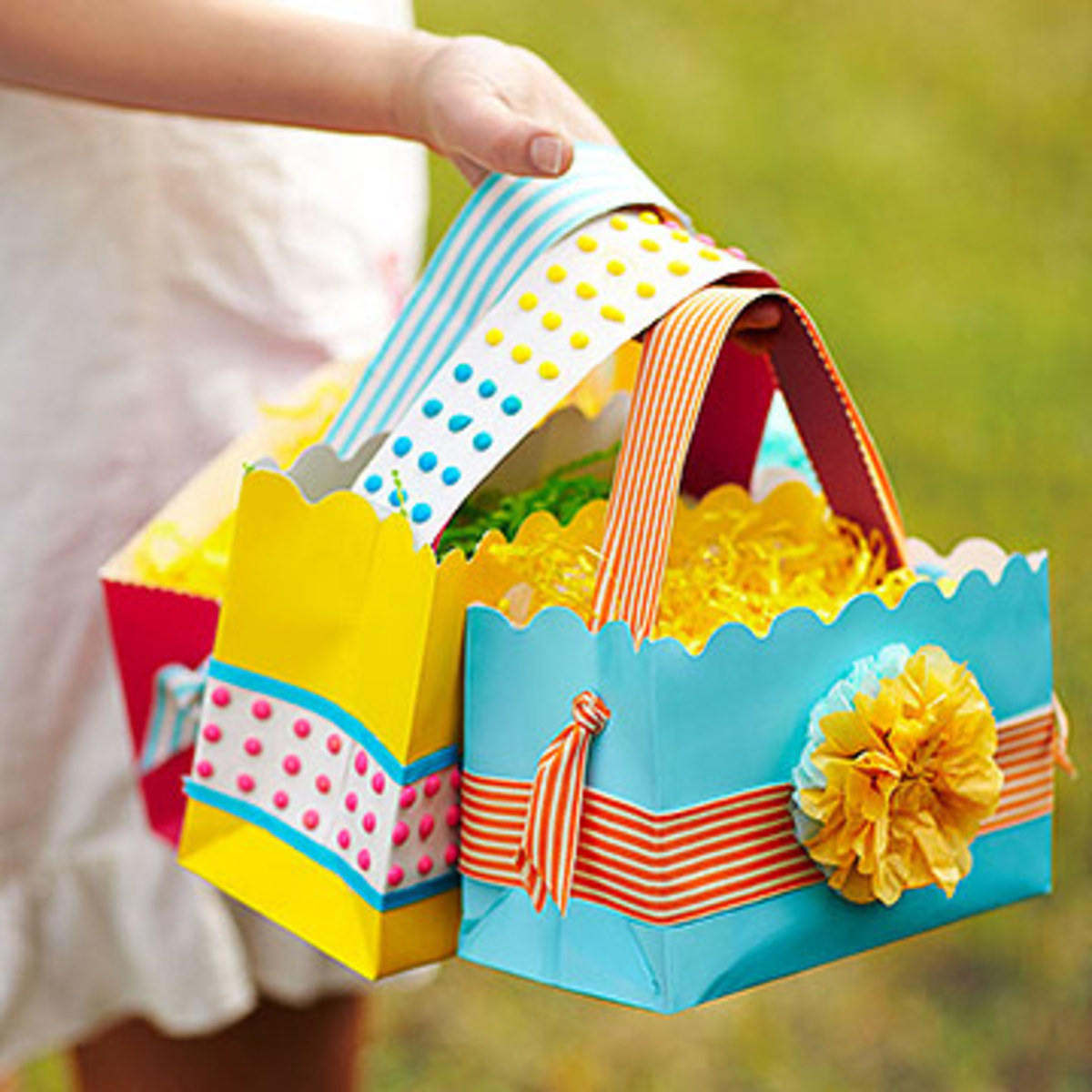 paper Easter bags