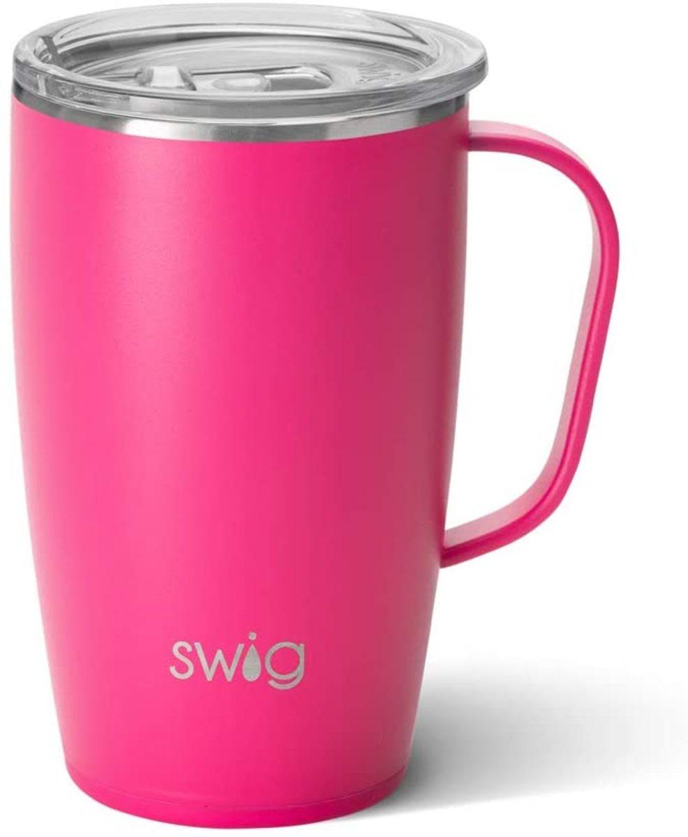 Swig Life Triple Insulated Travel Mug with Handle