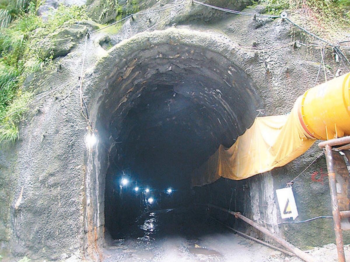 Melamchi project still under construction