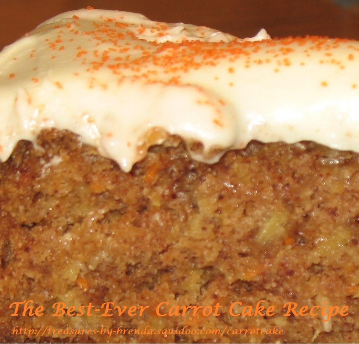 The Best-Ever Carrot Cake Recipe