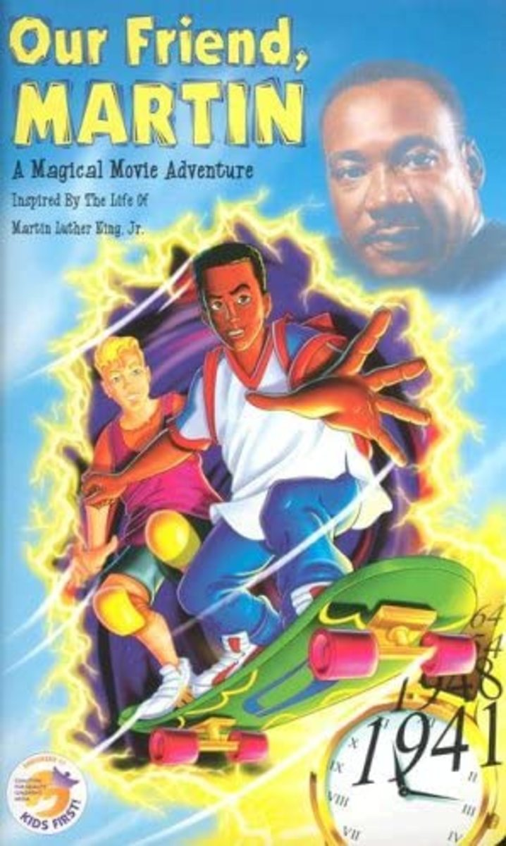 """Our Friend, Martin"" VHS Cover"