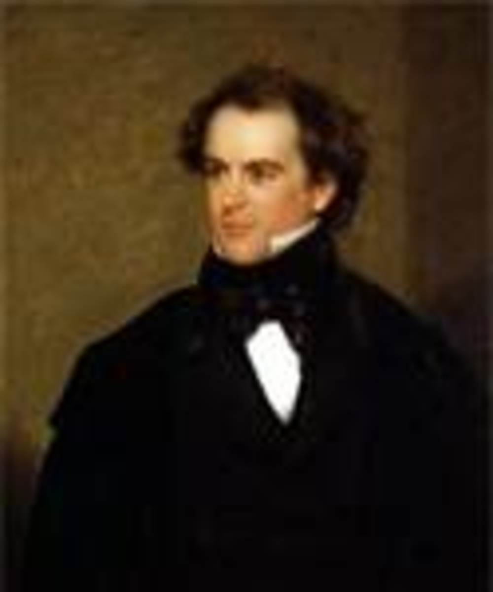 Portrait of Nathanial Hawthorne