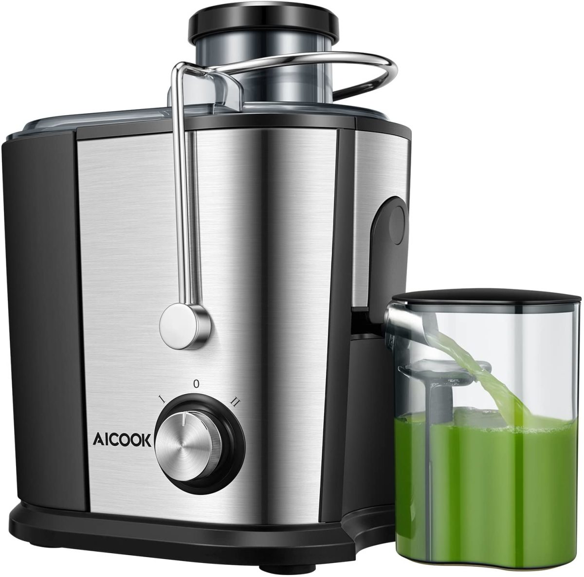 The Aicook Wide Mouth Juice Extractor.