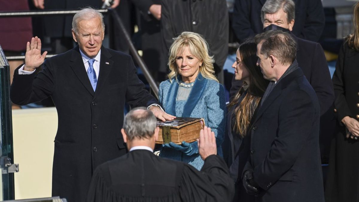 Joe Biden Inaugurated