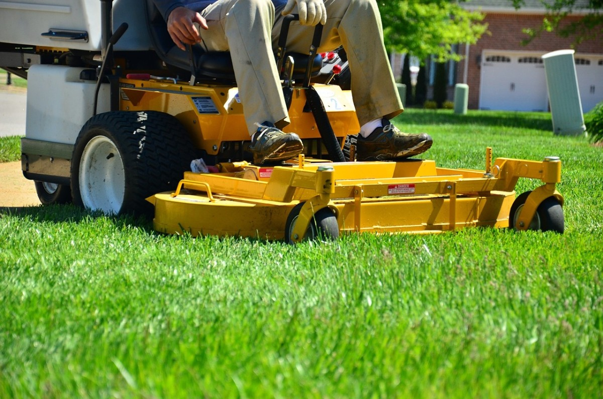 A riding mower is a real time-saver for homeowners at whatever level of landscaping expertise.