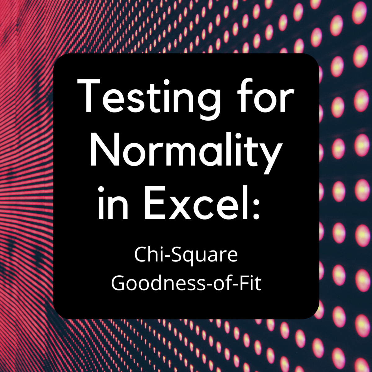 This article provides a step-by-step guide to easily testing normality with the Chi-Square Goodness-of-Fit Test for Excel.