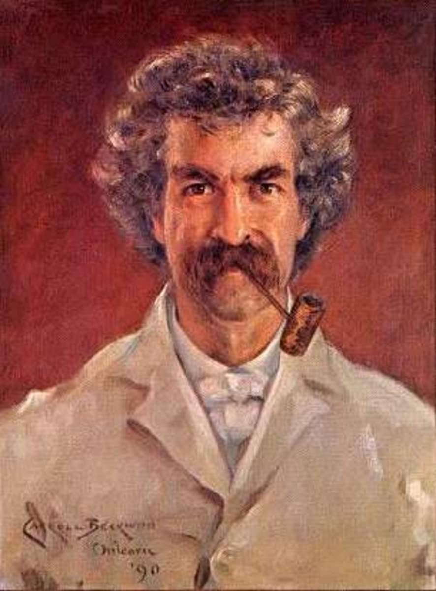 Mark Twain, AKA Samuel Clemens