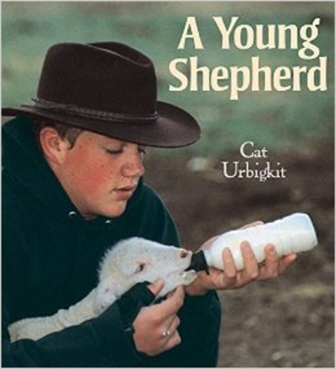 A Young Shepherd by Cat Urbigkit  - All book images are from amazon.com .